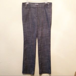 New York & Co. Gray Career Pants, Size 8 Tall